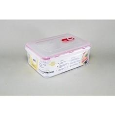 Контейнер вакуумный для продуктов 2.7 л Stahlberg Розовый (4259-S)