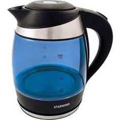 Чайник электрический StarWind SKG2216 синий/черный