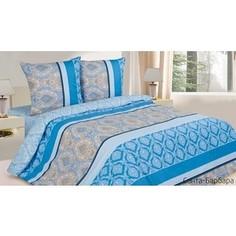 Комплект постельного белья Ecotex Семейный, поплин, Санта-Барбара (КПДСанта-Барбара)