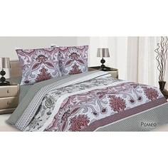 Комплект постельного белья Ecotex Евро, поплин, Ромео (КПЕРомео)