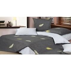 Комплект постельного белья Ecotex Евро, сатин, Фонтейн (КГЕФонтейн)