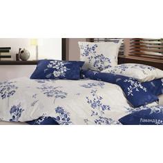 Комплект постельного белья Ecotex 1,5 сп, сатин, Лаванда (КГ1Лаванда)
