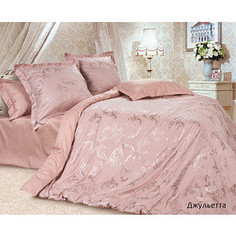 Комплект постельного белья Ecotex Евро, сатин-жаккард, Джульетта (КЭЕДжульетта)
