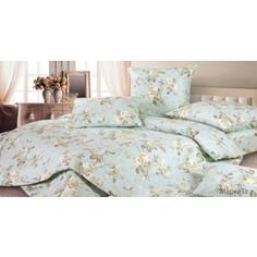 Комплект постельного белья Ecotex Евро, сатин, Маркиза (КГЕМаркиза)