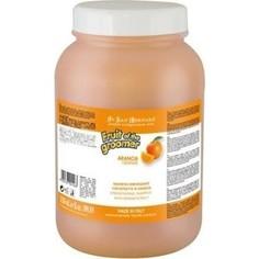 Шампунь Iv San Bernard Fruit of the Grommer Orange Strengthening Shampoo укрепляющий с силиконом для слабой выпадающей шерсти животных 3.25 л