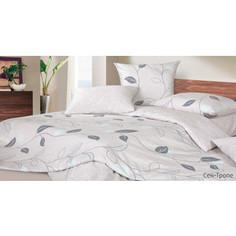 Комплект постельного белья Ecotex Евро, сатин, Сен-Тропе (КГЕСен-Тропе)