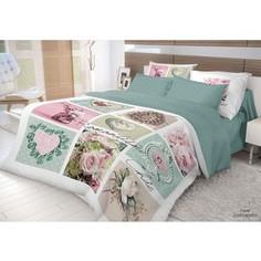 Комплект постельного белья Волшебная ночь Евро, ранфорс, Frame с наволочками 70x70 (704070)
