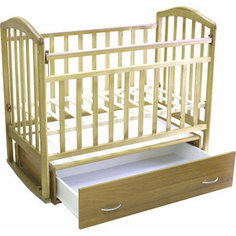 Кроватка Антел Алита-4 маятник/качалка/ящик бук