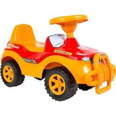 Каталка машинка RT ОР105 Джипик с клаксоном красная