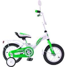 Велосипед 2-х колесный RT KG1221 ALUMINIUM BA Ecobike 12 1s (зеленый)