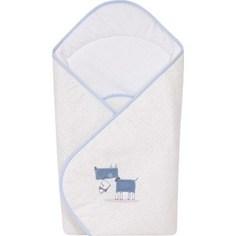 Одеяло-конверт Ceba Baby My Dog blue green вышивка W-810-073-003 (Э0000016394)
