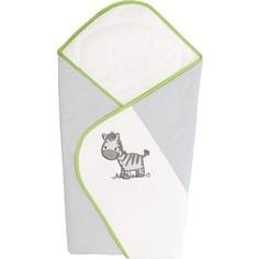 Одеяло-конверт Ceba Baby Zebra Grey вышивка W-810-002-260