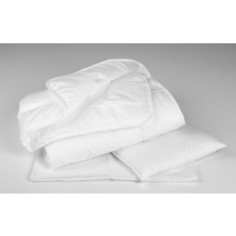Комплект в кроватку Perina 2 предмета Одеяло подушка белый (КП2-0326ОП2)