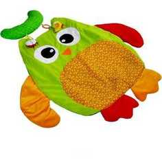 Развивающий игровой коврик I-Baby Сова с подушкой B-14139