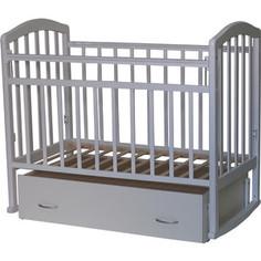 Кроватка Антел Алита 4 а/с, маятник поперечного качания, качалка, закрытый ящик слоновая кост