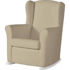 Кресло-качалка Micuna Wing/Nanny white/brown