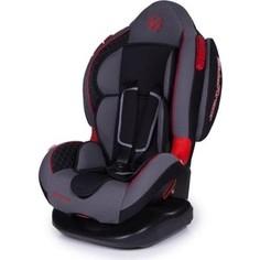 Автокресло Baby Care Polaris ISOFIX гр I/II Черный/Серый 1008