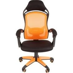 Офисноекресло Chairman game 12 черно-оранжевый