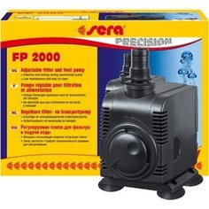 Помпа SERA PRECISION Adjustable Filter and Feed Pump FP 2000 погружная для аквариумов