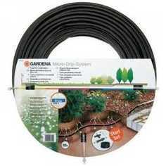 Шланг сочащийся для подземной прокладки Gardena 13.7мм 50м (комплект для удлинения 1389) (01395-20.000.00)