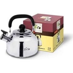Чайник 2.8 л со свистком Teco (TC-116)
