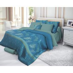 Комплект постельного белья Verossa евро, сатин, Emerald (719556)