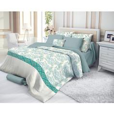 Комплект постельного белья Verossa евро, махра, Azure (719558)