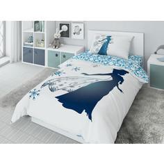 Комплект постельного белья Disney 1,5 сп, жаккард, Elza (732233)