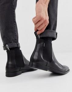 Черные кожаные ботинки челси PS Paul Smith Gerald - Черный