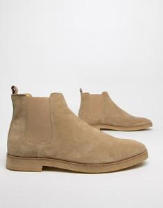 Замшевые ботинки челси WALK London Hornchurch - Коричневый