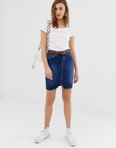 Джинсовая юбка-карандаш Pepe Jeans Taylor - Синий
