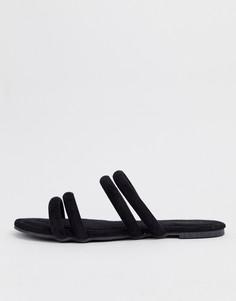Босоножки с ремешками Glamorous - Черный