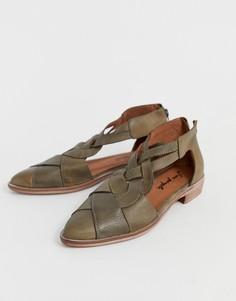 Ботинки на шнуровке Free People - Коричневый