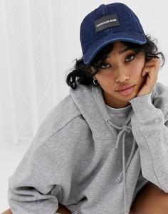 Кепка с логотипом Calvin Klein Jeans - Синий