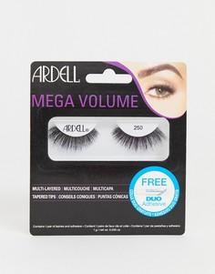 Накладные ресницы Ardell Mega Volume 250 - Черный