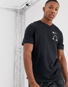 Черная футболка Nike Running x Nathan Bell - Черный