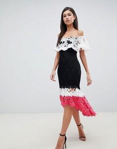 Ярусное платье Forever Unique - Мульти