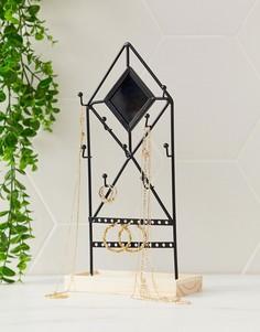 Черная подставка для украшений Sass & Belle - Мульти
