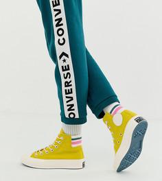 Высокие кеды в стиле 80-х Converse Chuck 70 - Желтый