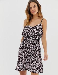 Платье Naf Naf - Мульти