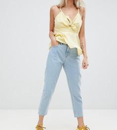 Светлые джинсы в винтажном стиле Vero Moda Petite - Синий