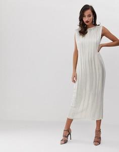 Платье миди ASOS EDITION - Мульти