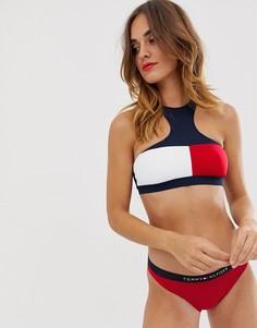 Плавки бикини с логотипом Tommy Hilfiger - Красный