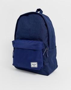 Темно-синий рюкзак вместимостью 24 л Herschel Supply Co Classic - Темно-синий