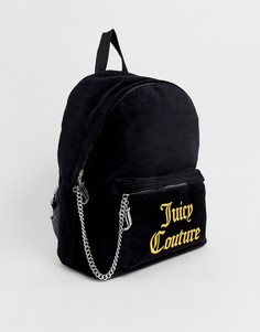 Рюкзак с логотипом Juicy Couture - Черный