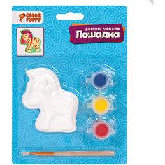 """Набор для творчства Color Puppy """"Роспись магнита"""" Лошадка"""