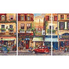 """Картина-триптих по номерам Schipper """"Париж"""" 50х80 см"""