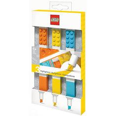Набор цветных маркеров Lego,3 шт.