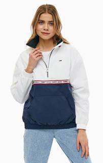 Ветровка с монограммой бренда Tommy Jeans