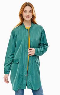 Легкая зеленая куртка с двумя карманами Ichi